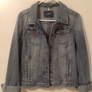 Ann Taylor Denim Jacket, size Medium